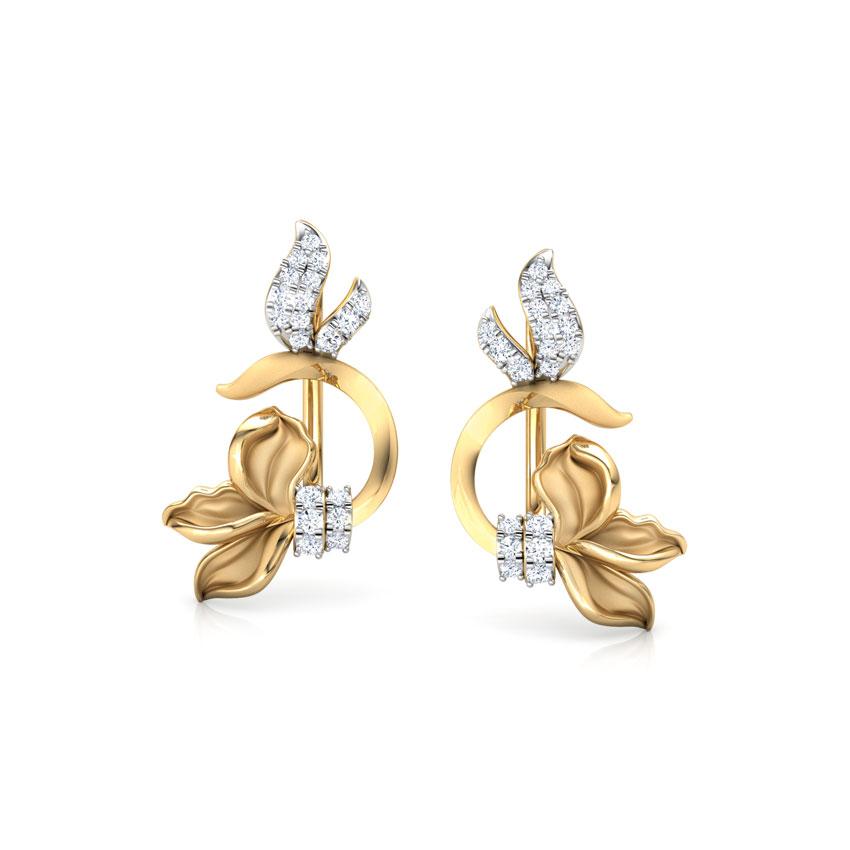 Snowdrop Floret  Ear Cuffs