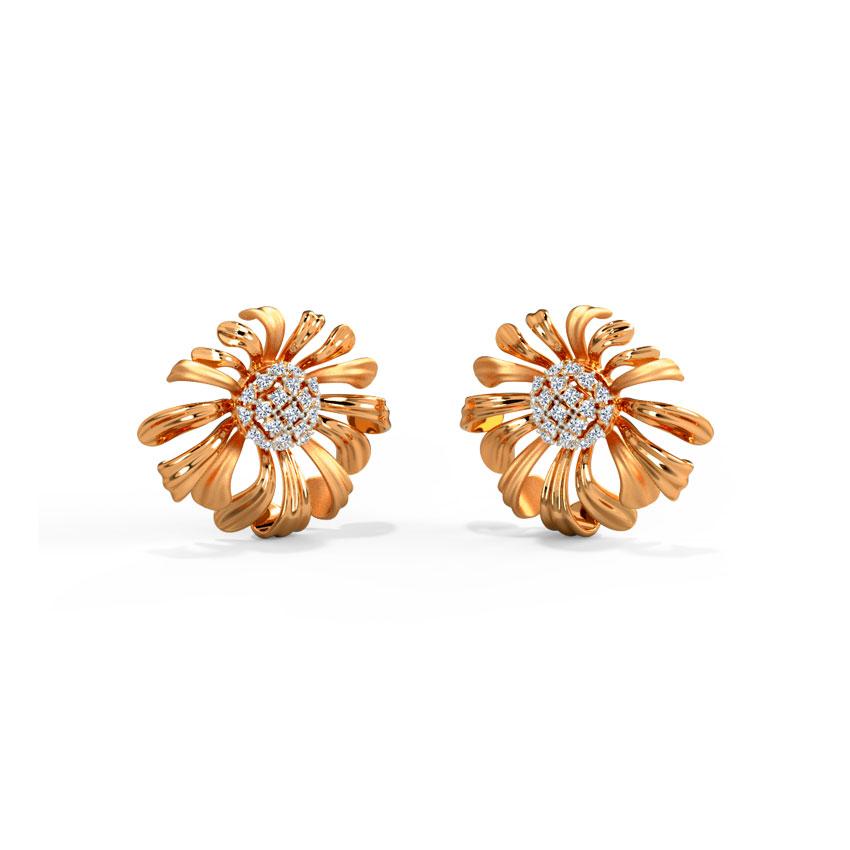 Aster Bloom Stud Earrings