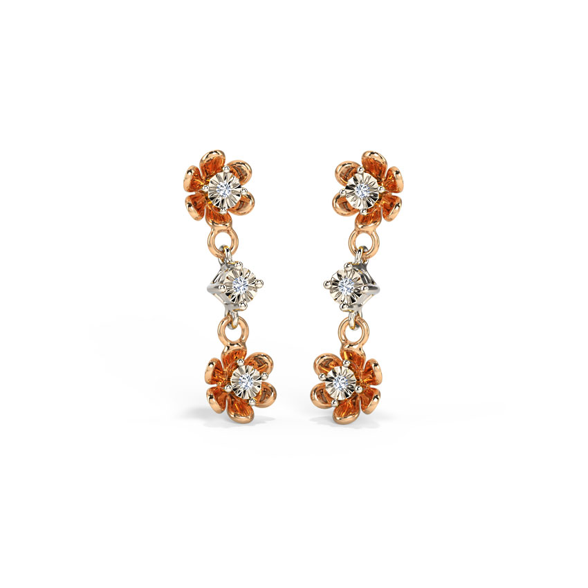 Blossom Miracle Plate Drop Earrings