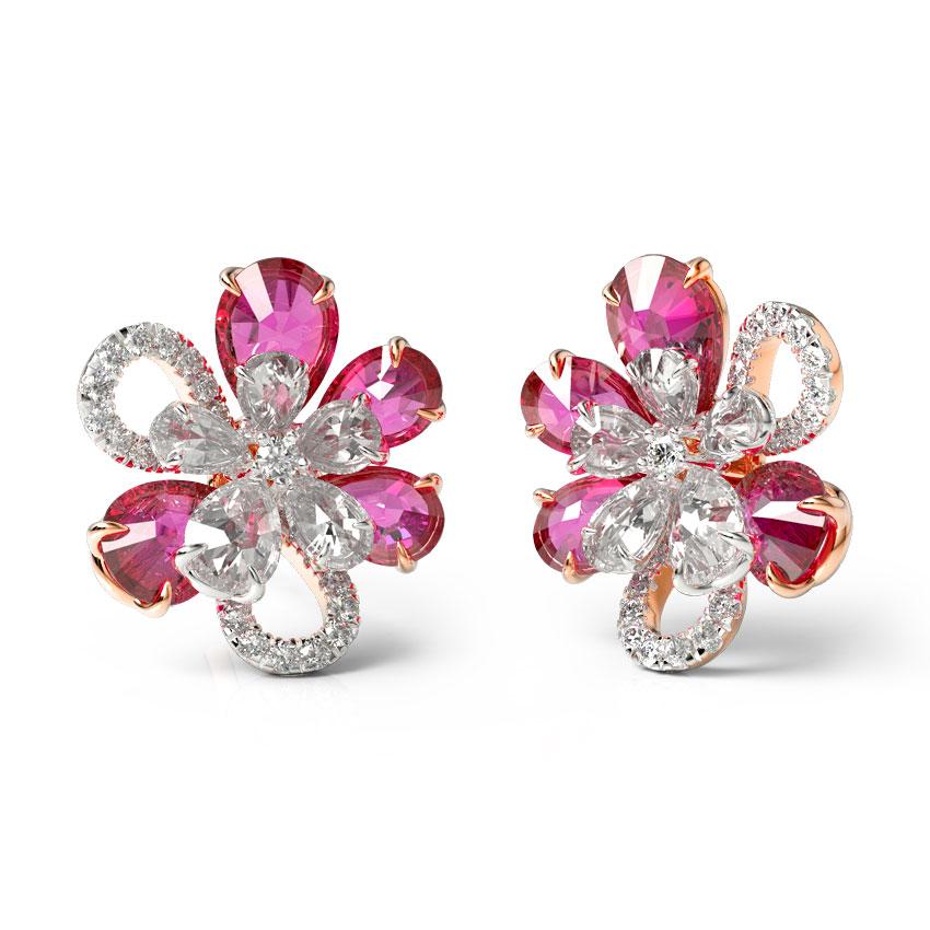 Inaya Bloom Stud Earrings