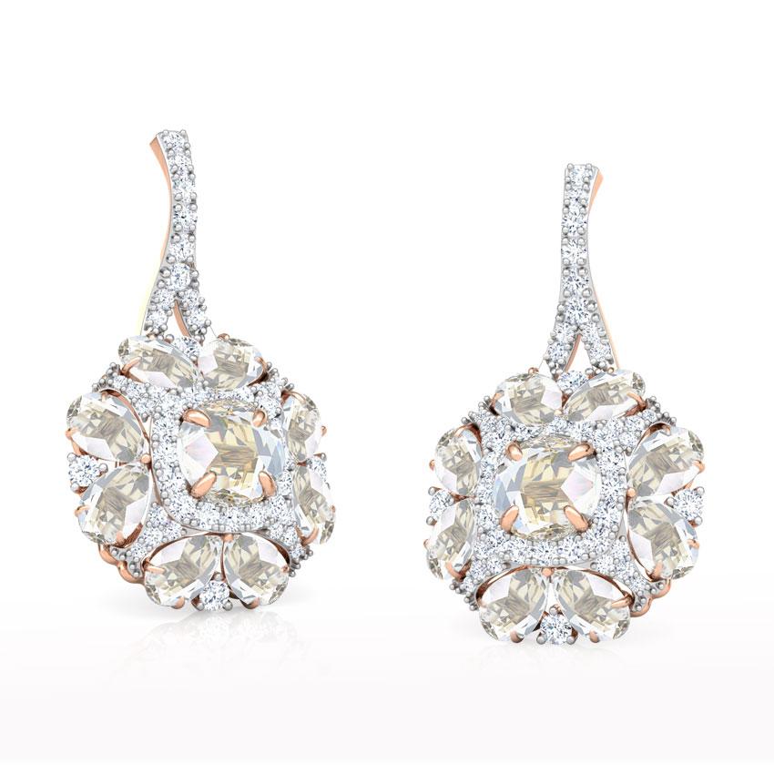 Yasmin Floret Drop Earrings