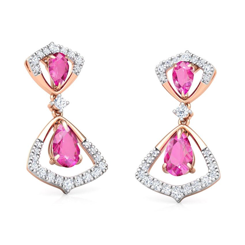 Arwa Floret Drop Earrings