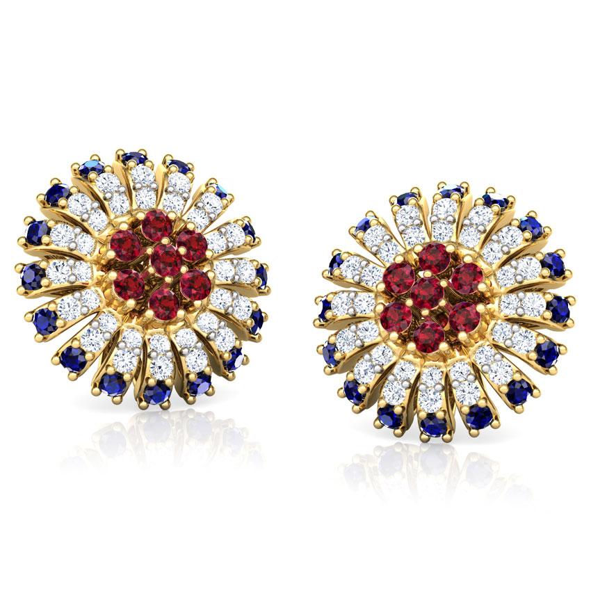 Nitya Vibrant Stud Earrings