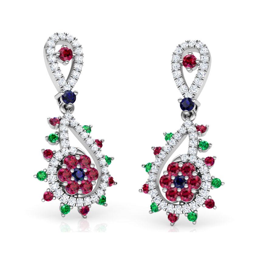 Pia Vibrant Drop Earrings