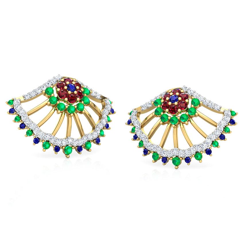 Vanya Vibrant Stud Earrings