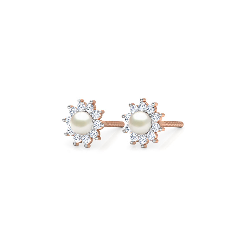 Cabriole Stud Earrings