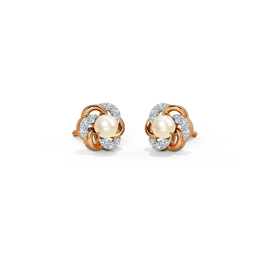 Efface Stud Earrings