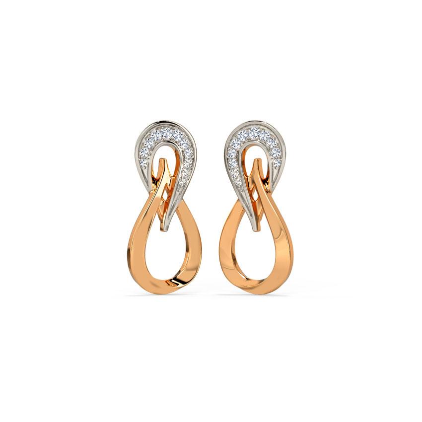 Swerve Stud Earrings