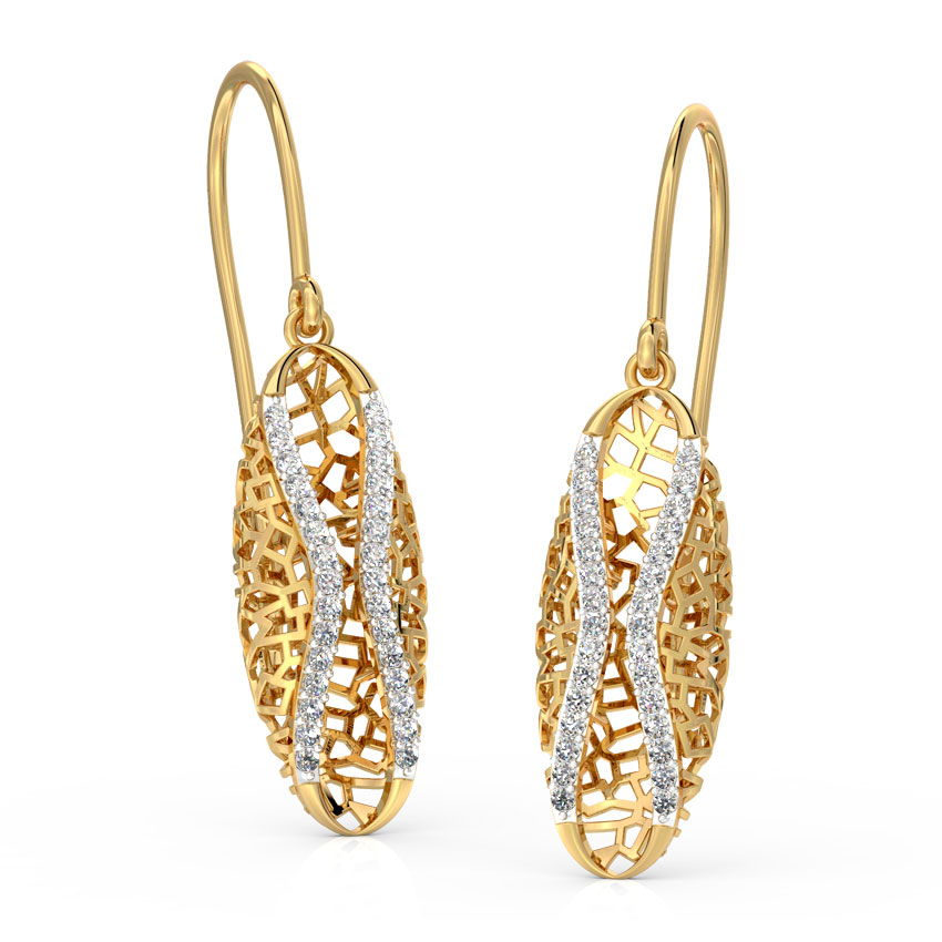 Ella Enfold Drop Earrings