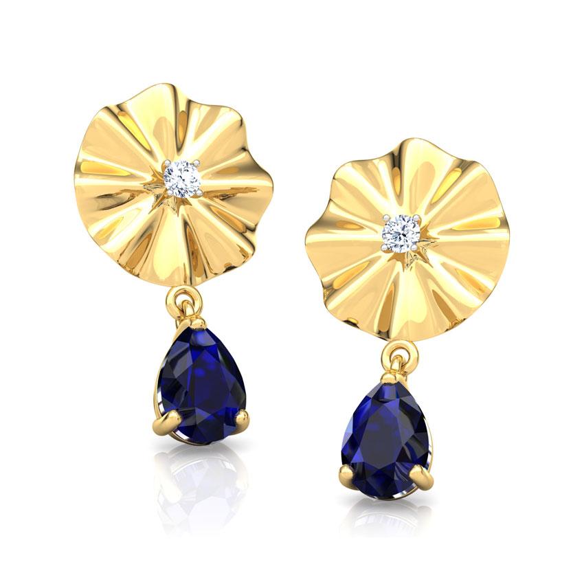 Kiara Floret Drop Earrings