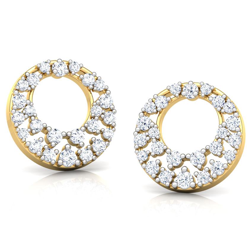 Sunshine Cluster Stud Earrings