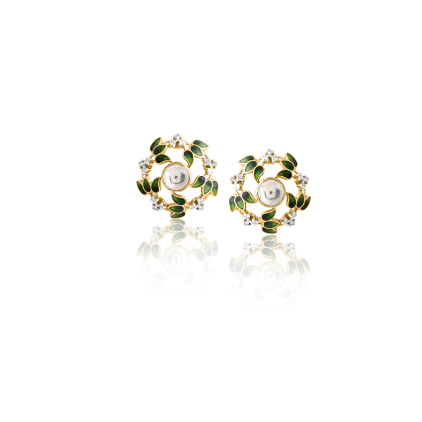 Timeless Floral Stud Earrings