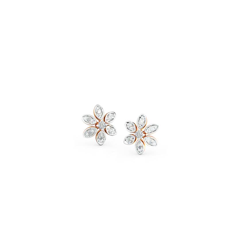 Daisy Floret Stud Earrings