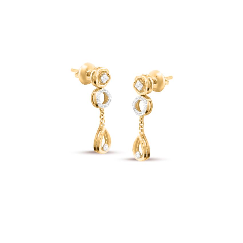 Shelly Orb Drop Earrings