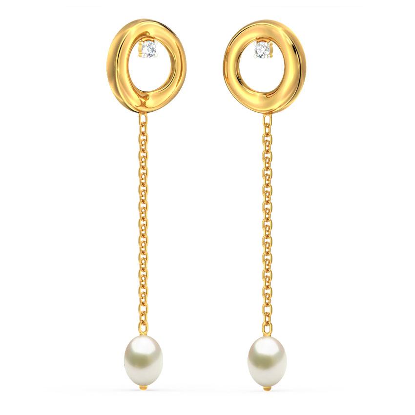 Raisha Circlet Drop Earrings