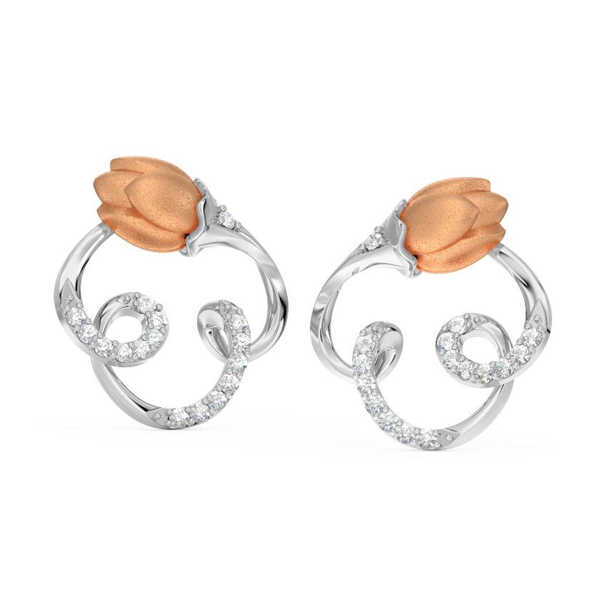 Sway Tulip Stud Earrings