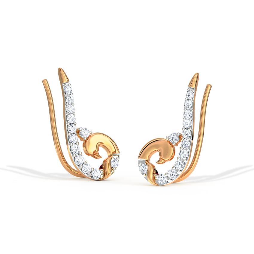 Swan Ear Cuffs