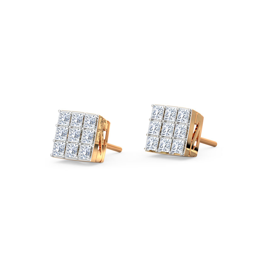 Classic Quad Stud Earrings