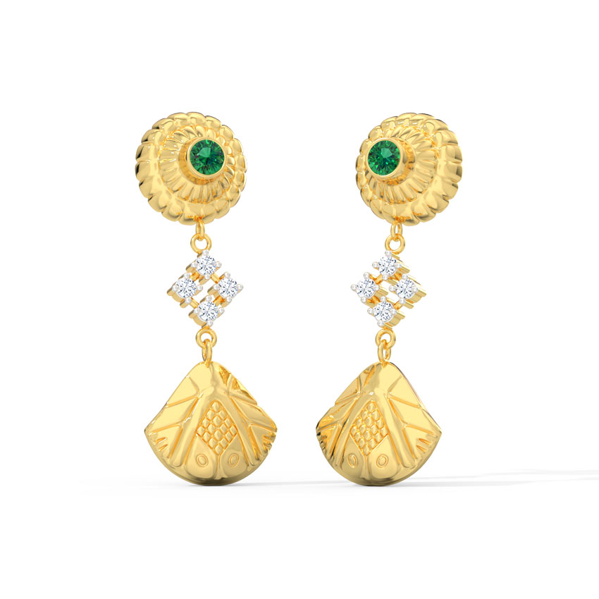 Bhavya Ornate Drop Earrings