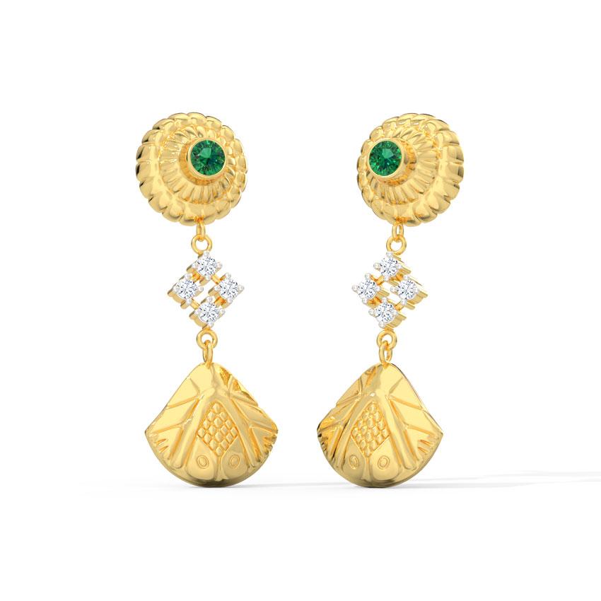 Bhavya Ornate Drop Earrings