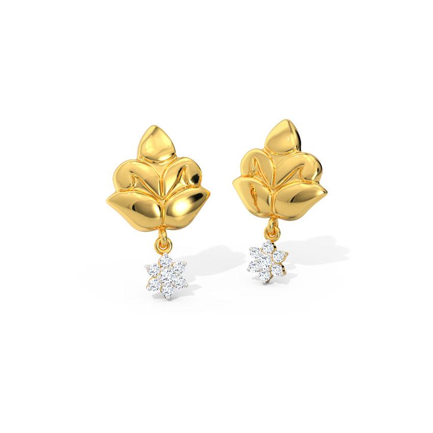 Leena Ornate Drop Earrings