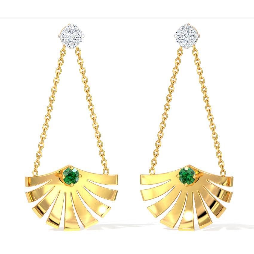 Sway Crown Drop Earrings