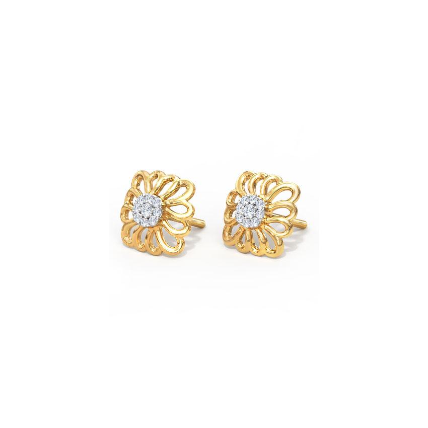 Urvi Ornate Stud Earrings