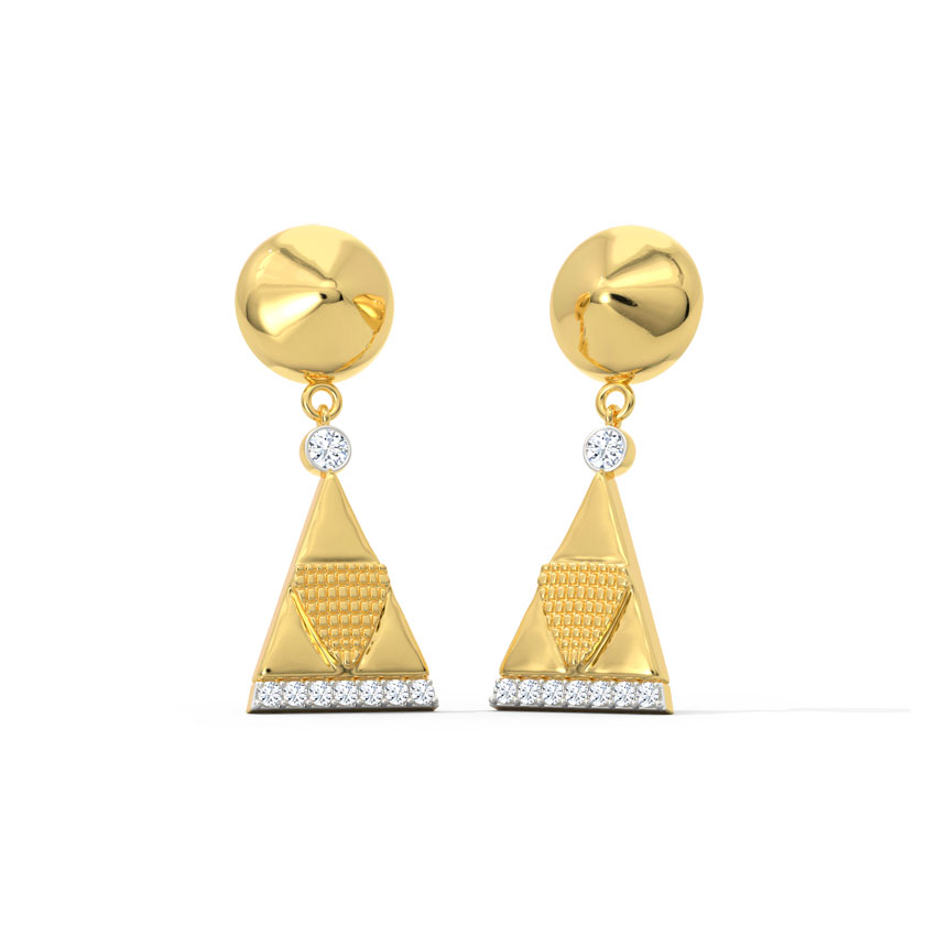 Anvi Aztec Drop Earrings