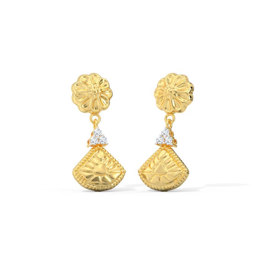 Trisha Bloom Drop Earrings
