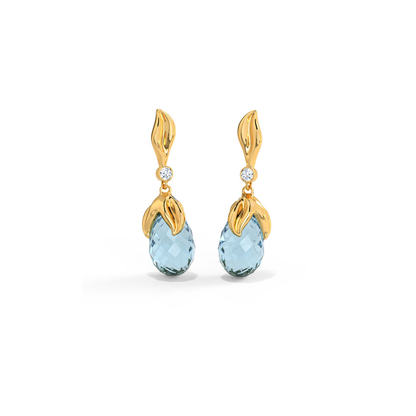 Elegant Dewdrops Drop Earrings