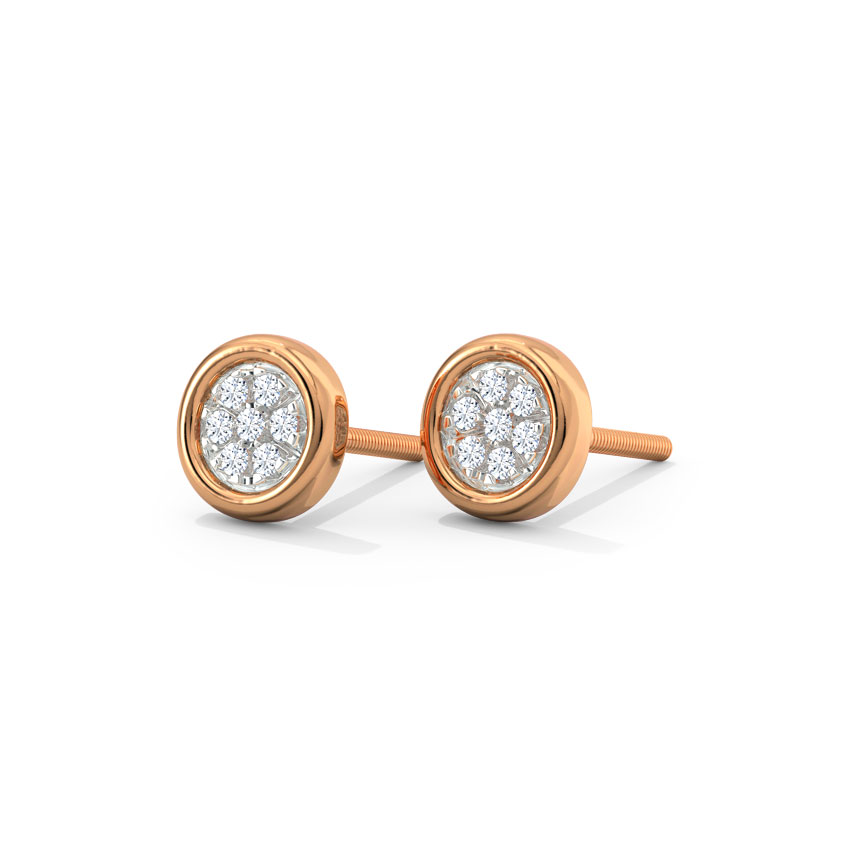 Petite Clump Stud Earrings