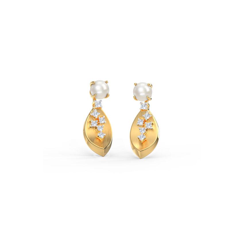 Stark Pearl Drop Earrings