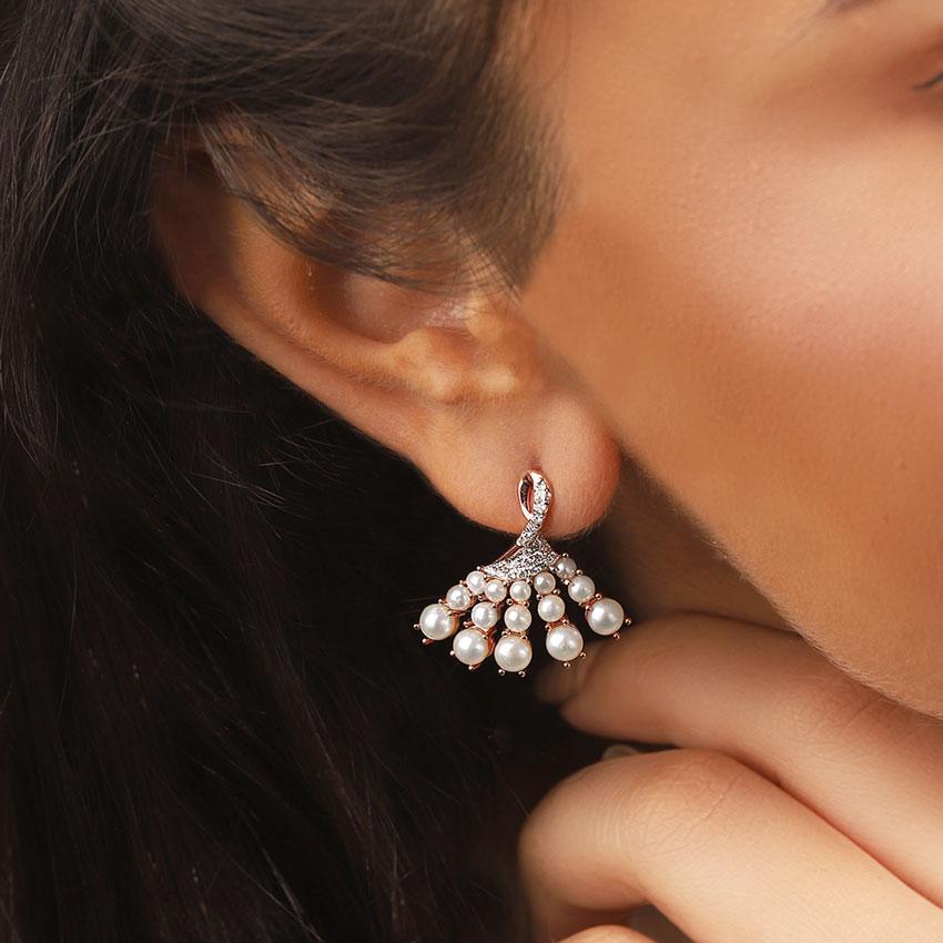 Pique Stud Earrings
