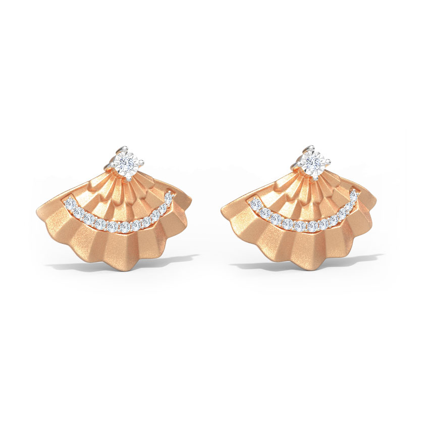 Dazzle Flare Stud Earrings