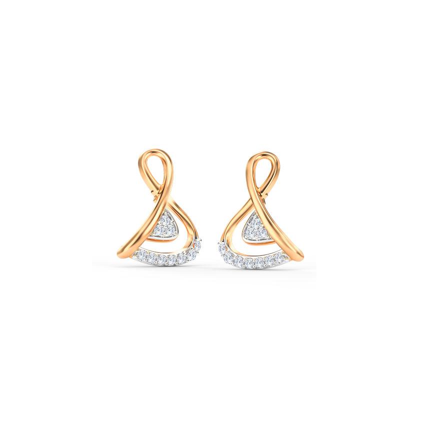 Simply Knot Stud Earrings