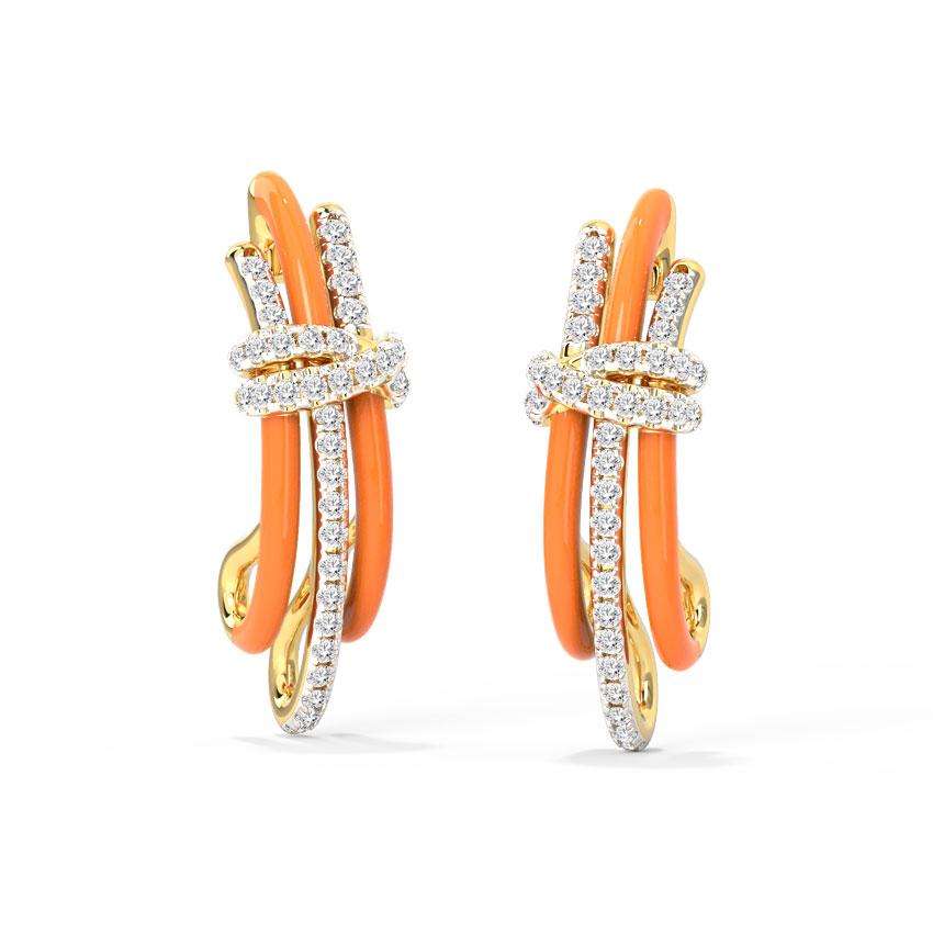 Enigma Stud Earrings
