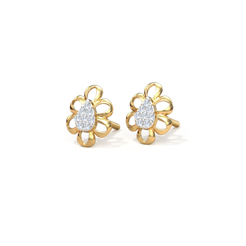 Petite Blossom Stud Earrings