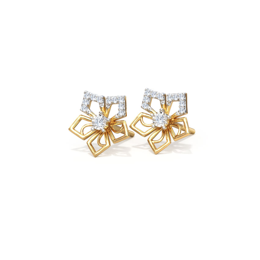 Stark Bloom Stud Earrings