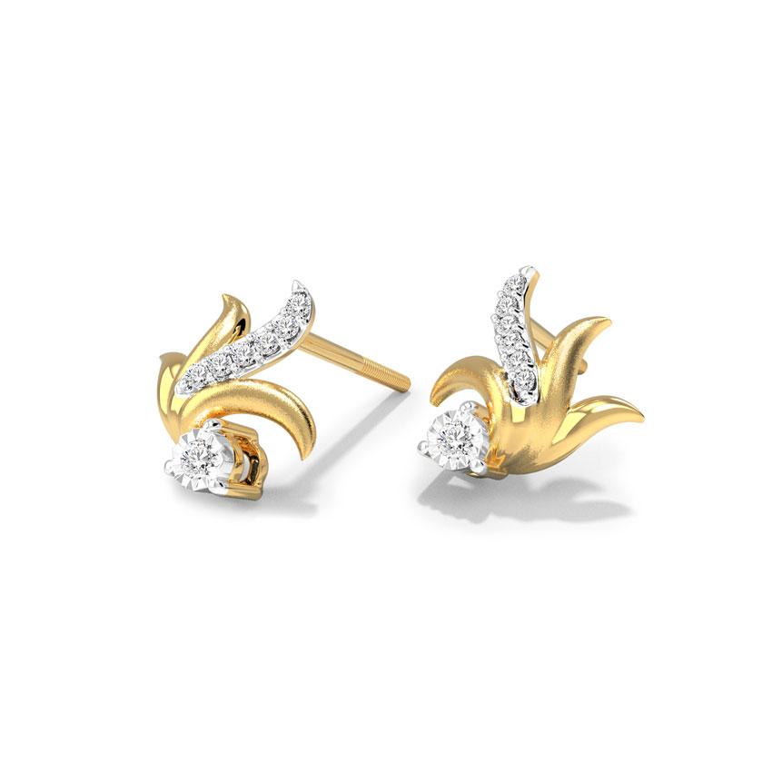 Sway Bloom Stud Earrings
