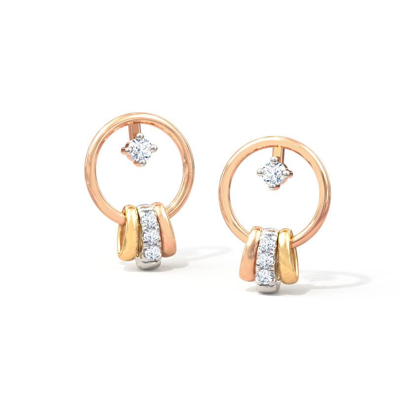 Haley Royal Stud Earrings