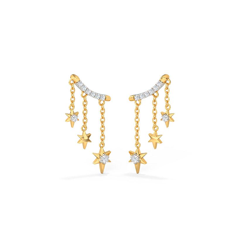 Starry Drop Earrings