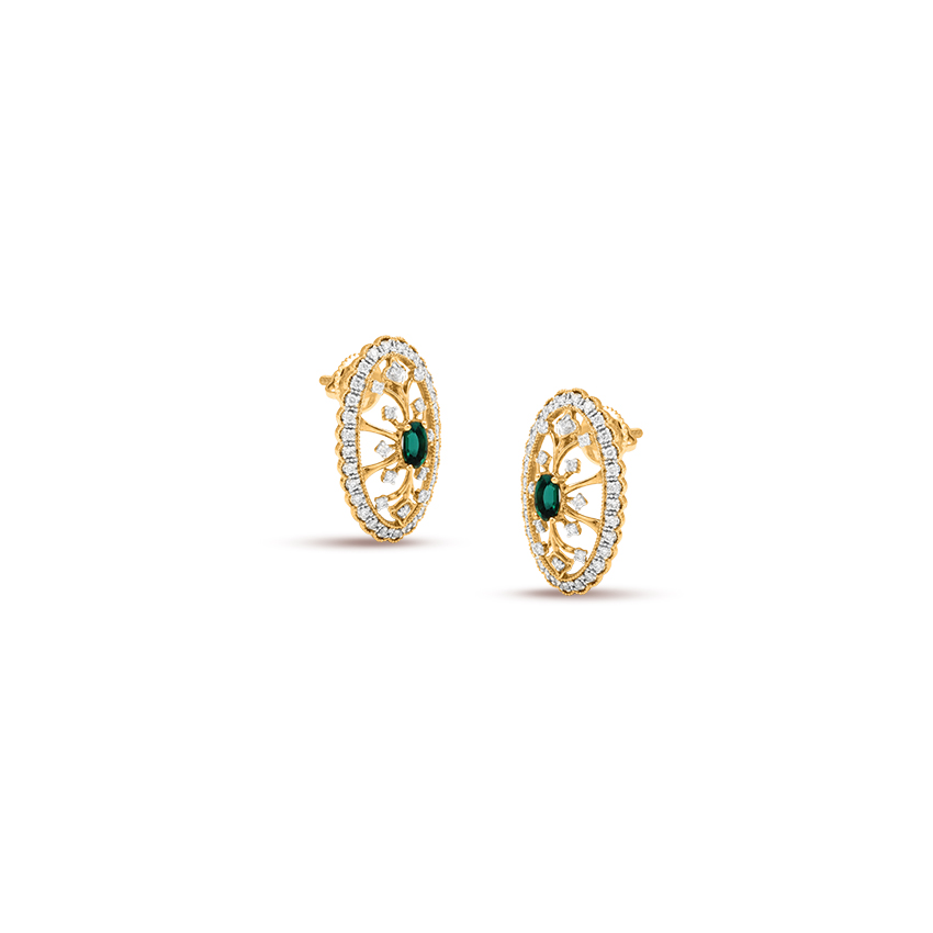 Stand Out Emerald Green Stud