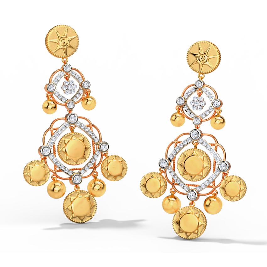 Athena Drop Earrings