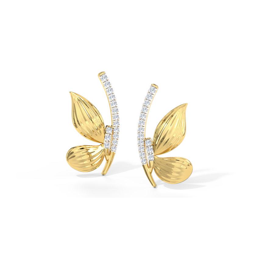 Ella Butterfly Stud Earrings