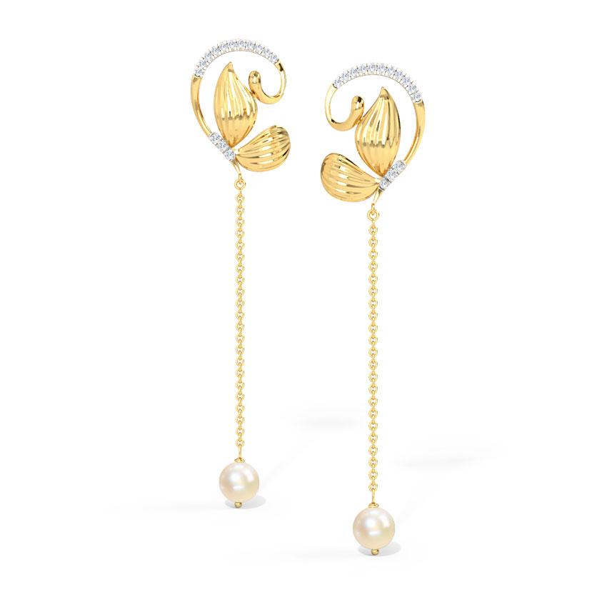 Sway Butterfly Drop Earrings