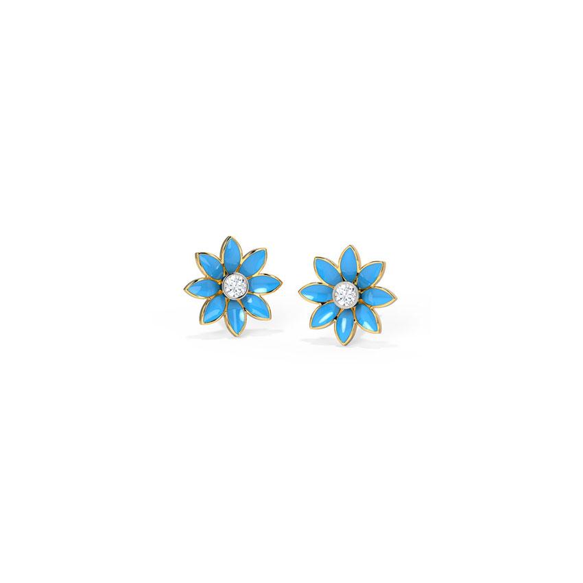 Daisy Detachable Stud Earrings