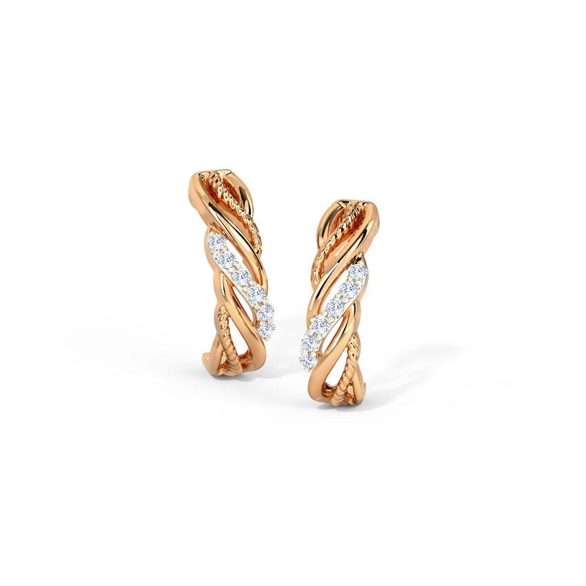 Entwine Hoop Earrings