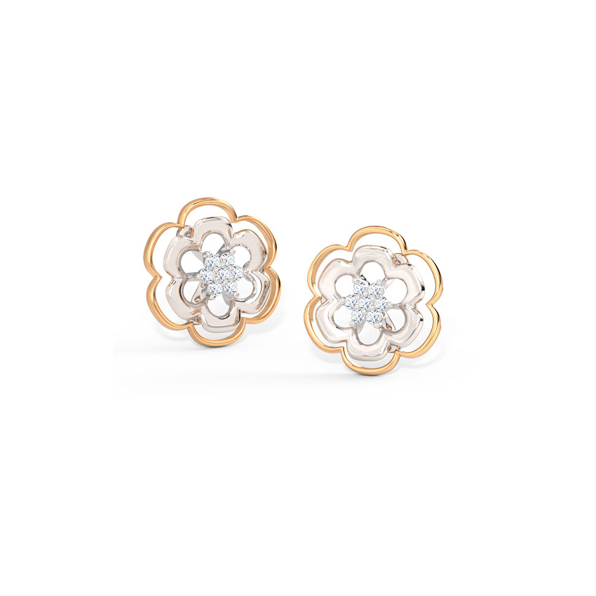 Glimmer Floret Stud Earrings