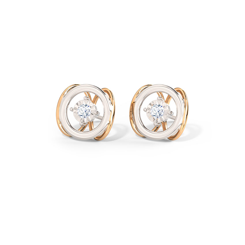 Glory Miracle Plate Stud Earrings