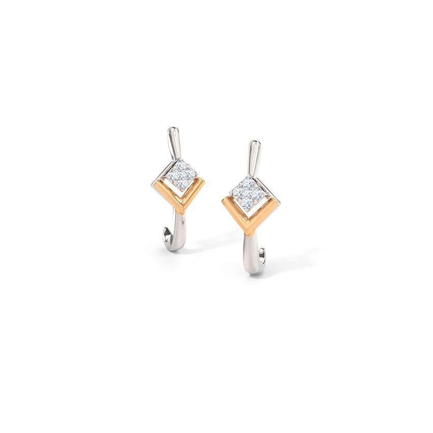 Quadra Hoop Earrings